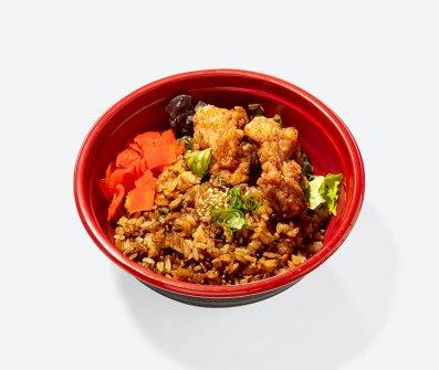 GOCHIの特製黒炒飯
