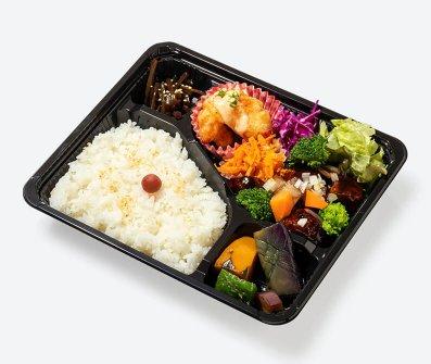 鳥取県産豚肩ロースの中国黒酢酢豚弁当