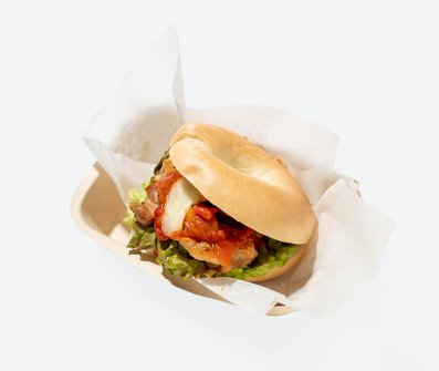 LITTLE ITALY GAINA CHICKEN BURGER
